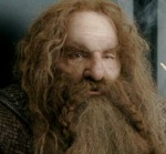 John Rhys-Davies was allergic to the makeup he had to wear as Gimli in The Lord of the Rings trilogy.