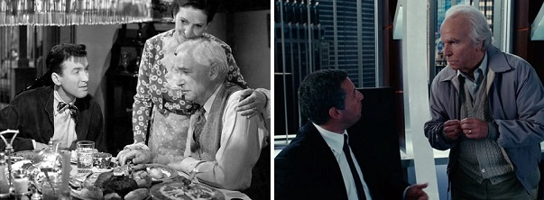 George Bailey and Michael Newman spend their last few moments with their fathers.