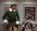 Buddy the Elf bonds with his little brother and the rest of his family in 2003's Elf.