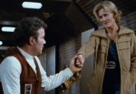 Kirk and Carol Marcus share a tender scene together in Star Trek II. But she's forgotten in the sequel.