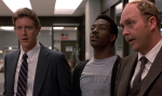 Judge Reinhold plays a prissy police officer in all three Beverly Hills Cop films.