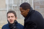 Nick Rice is always a step behind Clyde Shelton in Law Abiding Citizen.