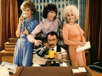 Dolly Parton (on the right) started her acting career in 1980's 9 to 5.