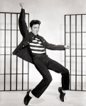 Elvis Presley made a huge number of films, including Jailhouse Rock.