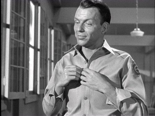[Frank Sinatra discusses his career in film, the Vietnam ...