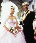 Eddie Murphy's face when he finds true happiness at the end of Coming to America is priceless.