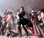 In The Patriot, Mel Gibson fights the British on America's behalf.