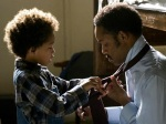 Pursuit of Happyness is about Chris Gardner struggling to provide a future for his son.