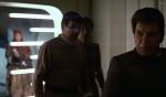 Kirk, Spock, and McCoy get sent to prison.