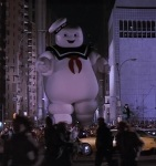 Ray chooses the Stay Puft Marshmallow Man for Gozer's final form.
