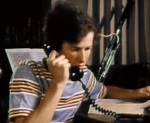 Marc McClure plays a bassoon and makes phone calls in The Phone Call.