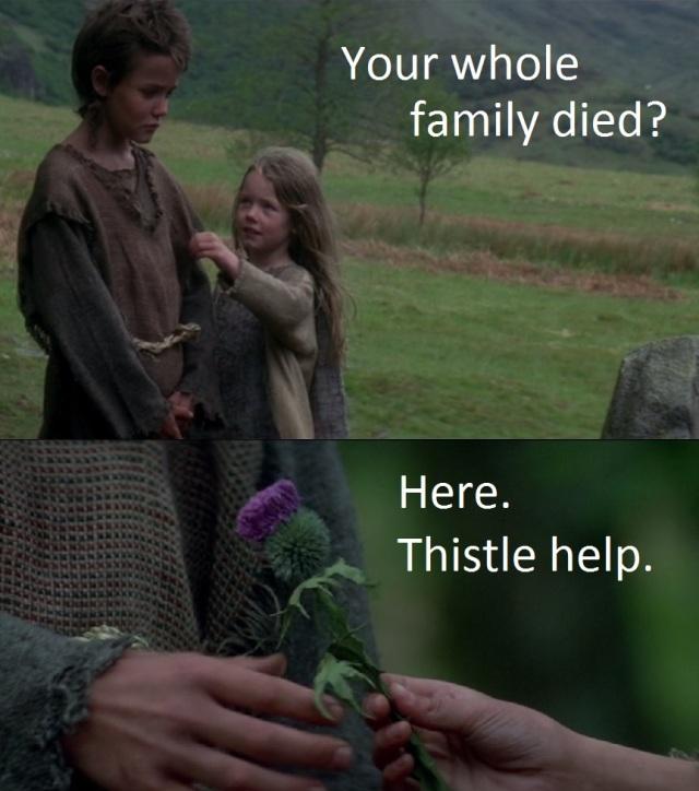 Thistle help.