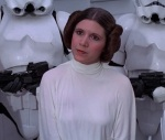Carrie Fisher knocked it out of the park as Princess Leia in Star Wars.