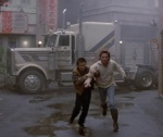 Jack Burton has to abandon his truck, leaving it in the hands of the evil David Lo Pan.