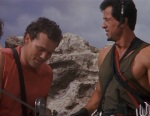 Michael Rooker and Sylvester Stallone appeared in Cliffhanger