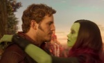 Peter Quill and Gamora have a beautiful love story.