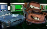 Mater and Finn McMissile are charming and fun in Cars 2.