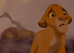 Simba is falsely accused of a terrible crime in The Lion King.