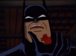 Batman is in agony after a thug crushes the roses he left for his parents in Crime Alley.