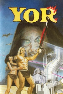 Yor: The Hunter from the Future movie poster.