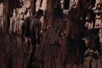 Indiana Jones takes a leap of faith.