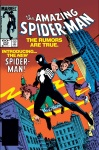 The Amazing Spider-Man #252 featured Spider-Man back in NYC in his black costume.
