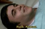 Chekov cheekily overstates his rank.
