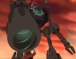 The Iron Giant becomes a death device.