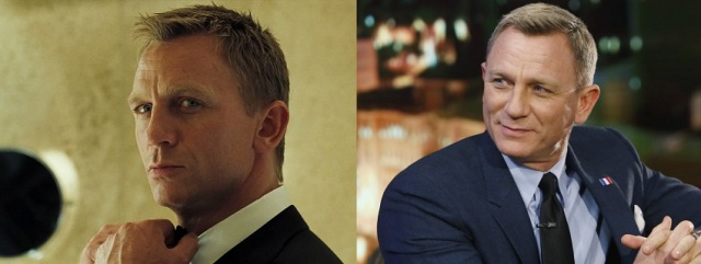 Daniel Craig then and now.