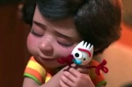 Forky doesn't want to be a toy at first in Toy Story 4.
