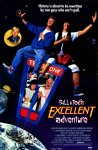 Bill & Ted's Excellent Adventure movie poster.
