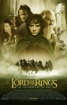 The Lord of the Rings: The Fellowship of the Ring movie poster.