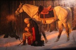 The Prayer at Valley Forge painting by Arnold Friberg.