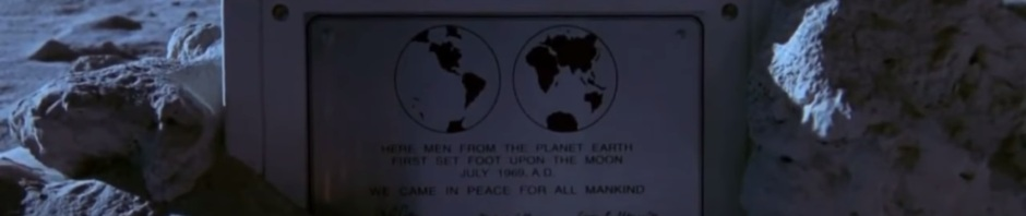 Plaque on the Moon
