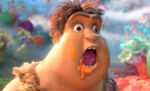 The Croods: A New Age comes off as a little creepy at the start.